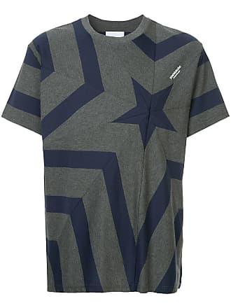 Yoshiokubo star print T-shirt - Grey