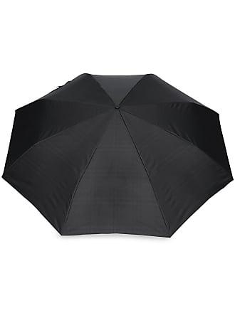 Burberry Vintage Check-lined Folding Umbrella - Preto