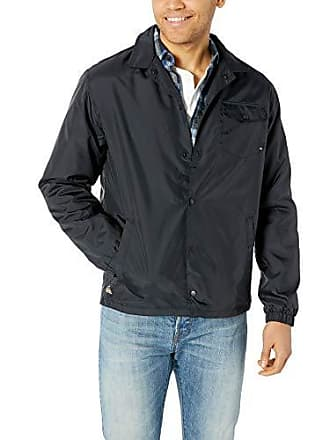 Quiksilver Mens 50Y Coach Jacket, Black L