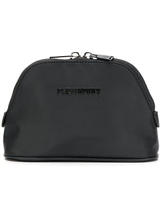 Plein Sport logo makeup bag - Preto