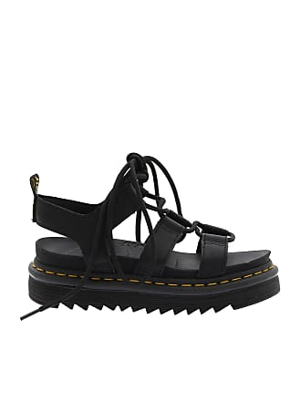 Dr. Martens Black leather Nartilla Hydro sandals