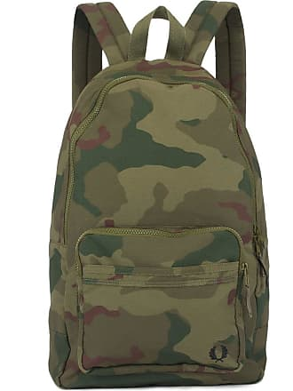 Fred Perry Camouflage Backpack - Iris Tundra Camo