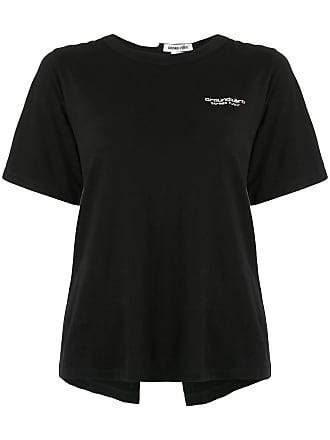 Ground-Zero Camiseta com abertura posterior - Preto
