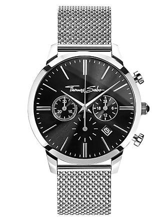 300fbf895c0f Thomas Sabo Thomas Sabo Reloj para señor negro WA0245-201-203-42 MM