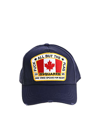 6211cdd51bdc6 Dsquared2 Blue hat with Canada patch