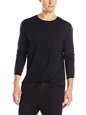 Zanerobe Mens Flintlock Long Sleeve T-Shirt, Black, X-Small