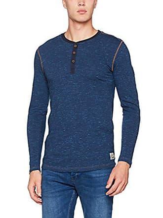 c95b9406598789 Levi s Herren Unterhemd Levis 300LS TRI-Blend Long Sleeve Henley 1P Blau  (Blue Jeans