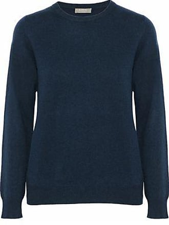 N.Peal N.peal Woman Cashmere Sweater Storm Blue Size L