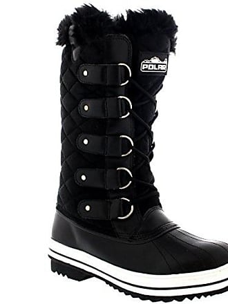 f5e5ae4627f68a Polar Womens Snow Boot Quilted Tall Winter Snow Waterproof Warm Rain Boot -  5 - BLS38
