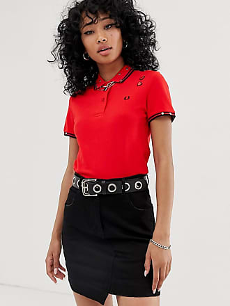c4dd90a4 Fred Perry x Amy Winehouse Foundation embroidered heart polo
