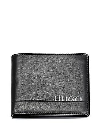 972cffa92f835 HUGO BOSS Geschenk-Set mit Geldbörse und Kartenetui aus Glattleder
