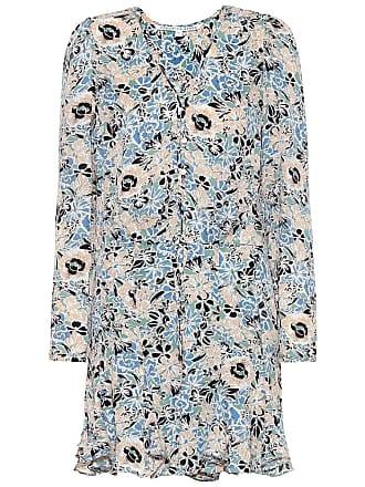 Veronica Beard Riggins floral silk dress