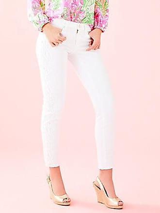 Lilly Pulitzer 29 South Ocean Skinny Crop with Lace