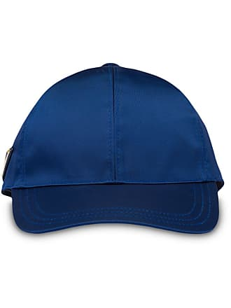 6f9cd6eb02fbe Prada logo plaque baseball cap - Blue