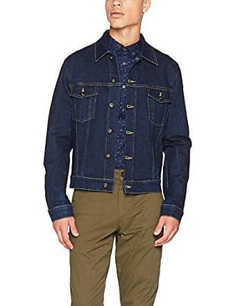 f7a26ae5f516d Vestes En Jean pour Hommes en Bleu − Maintenant   jusqu à −66 ...