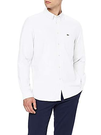 4e7cc3014b Lacoste CH4976 Chemise habillée, Blanc 001, XL (Taille Fabricant: 44) Homme