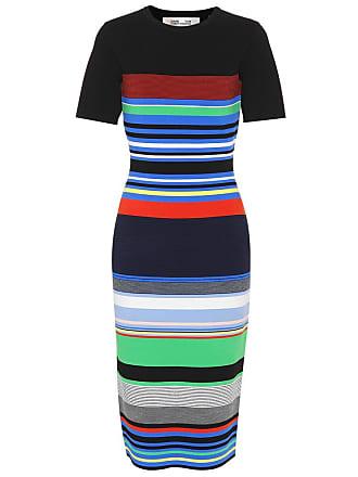 Diane Von Fürstenberg Striped knit dress