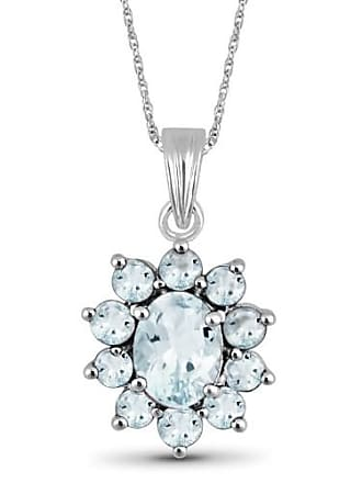 JewelersClub 2.15 Carat T.G.W. Aquamarine Gemstone Pendant