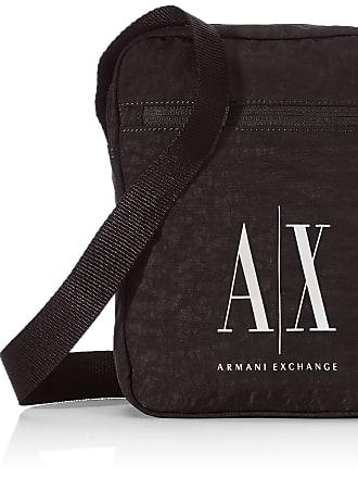 A X Armani Exchange Crossbody Mens Messenger Bag, Black (Nero - Black), 26x5x21 Centimeters (B x H x T)