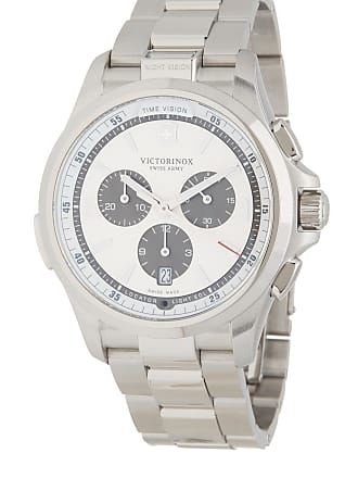 Victorinox by Swiss Army Mens Nightvision Chronograph Bracelet Watch, 42mm