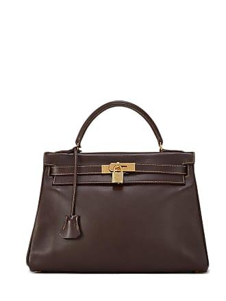 Hermès Kelly Retourne 32 Satchel Bag, Brown