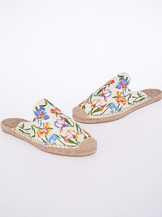 72e5c1987 Tory Burch Embroidered Canvas Slippers size 6