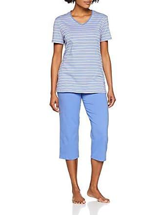 a86a5dce63 Schiesser Damen Essentials Anzug 3/4 Zweiteiliger Schlafanzug