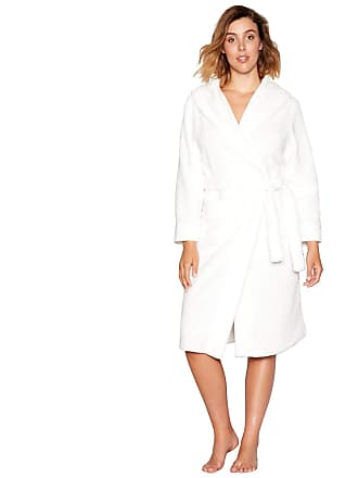 5898f7e6df Debenhams J by Jasper Conran Womens White Waffle Trim Dressing Gown 12 to 14