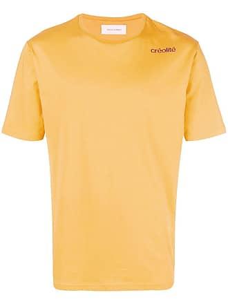 Wales Bonner Camiseta lisa mangas curtas - Amarelo