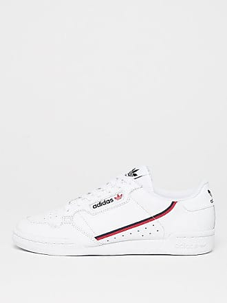 293c1c660469a7 adidas Continental 80s ftwr white scarlet colle