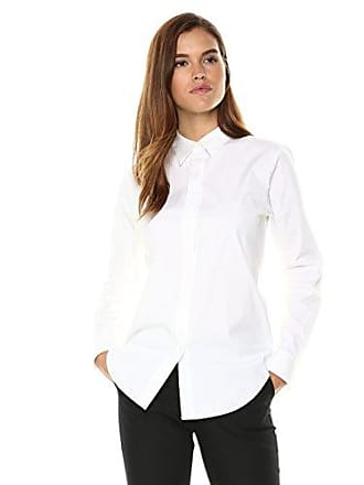 d822b59b26ee51 Theory Womens Long Sleeve Essential Buttondown Shirt