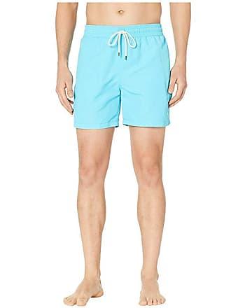 7b12d396be Polo Ralph Lauren Nylon Traveler Swim Shorts (Liquid Blue) Mens Swimwear