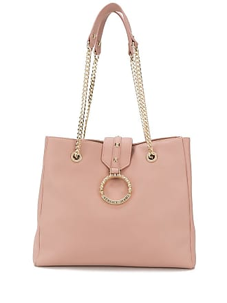 Versace Jeans Couture Bolsa tiracolo com logo - Rosa