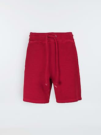 Maison Margiela Maison Margiela Shorts Red Cotton