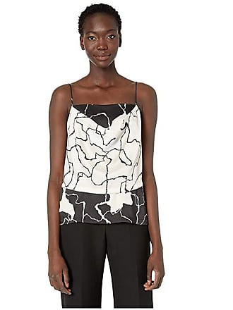 Yigal AzrouËl Terrazzo Printed Draped Front Camisole (Multi) Womens Clothing