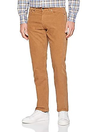 1bd0152a258ac GANT O1. Regular Cord Jeans, Droit Homme, Rouge (Roasted Brown Walnut)