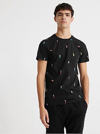 Superdry T-shirt con stampa integrale in cotone biologico