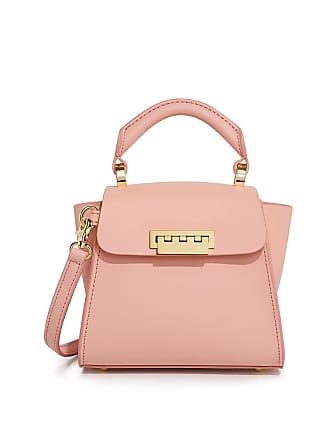 Zac Posen Eartha Iconic Mini Top Handle Cross Body Bag Light Pink