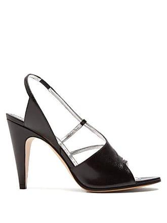 44edba167ba Givenchy Leather High Heel Sandals - Womens - Black