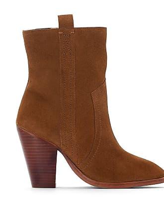 Boots en La talon western Redoute Camel à Collections Redoute cuir La Collections xEIqIgn