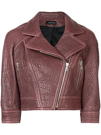 Yigal AzrouËl cropped biker jacket - Red