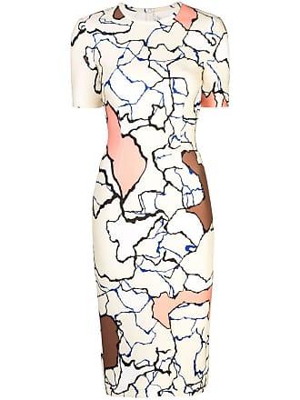 Yigal AzrouËl Terrazzo colour-block dress - Multicolour