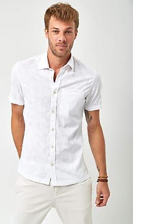Zapalla Camisa Manga Curta - Branco - Tamanho G