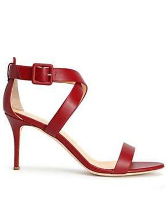 42ec368714f Giuseppe Zanotti Giuseppe Zanotti Woman Coline Leather Sandals Crimson Size  37