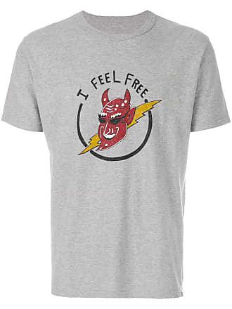 Visvim Camiseta Feel Free - Cinza
