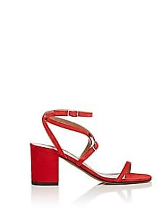 296d58d9298b Alumnae Womens Suede Multi-Strap Sandals - Red Size 9.5