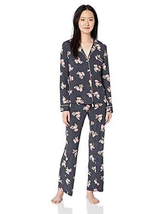 0925d66cb3 PJ Salvage Womens Long Sleeve Cozy Pajama Set Pj