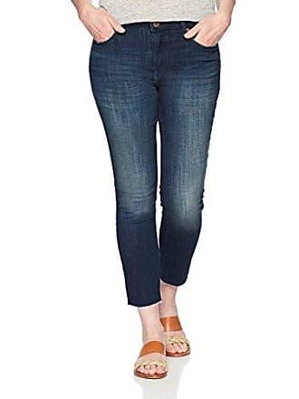 53f44d18 Riders by Lee Indigo Womens Modern Collection Skinny Cropped Denim Jean  with Cut Hem, Dark
