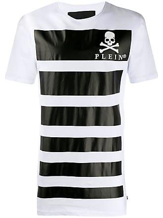 Philipp Plein logo print T-shirt - Branco