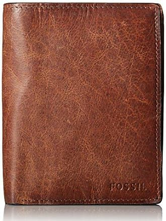 Fossil Mens International Combination Wallet, Brown, One Size